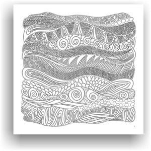 Obraz do kolorowania 85, 50x50 cm