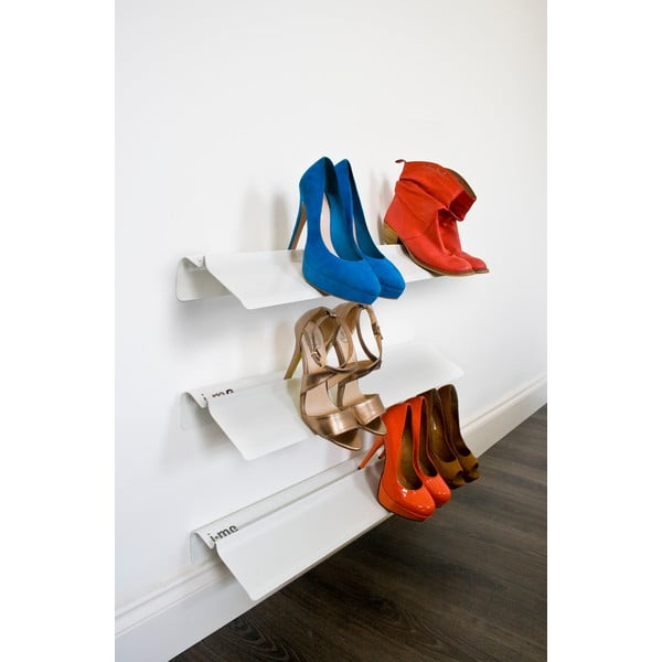 Biała półka na buty J-Me Stiletto, 70 cm
