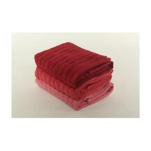Komplet 3 ręczników Pierre Cardin Tomato, 50x90 cm