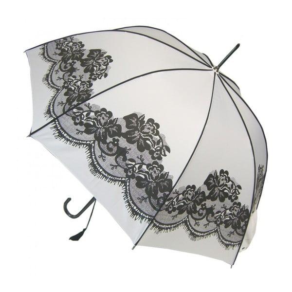 Parasolka Vintage, biała
