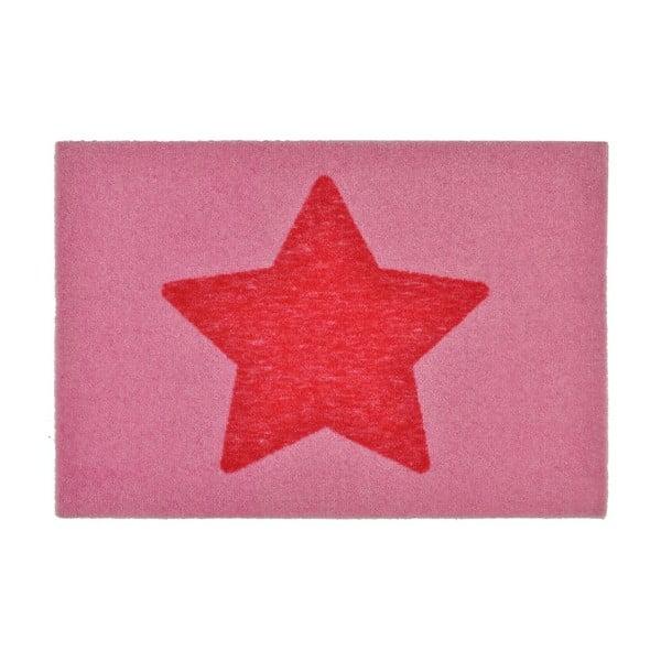 Wycieraczka Design Star Pink, 50x70 cm