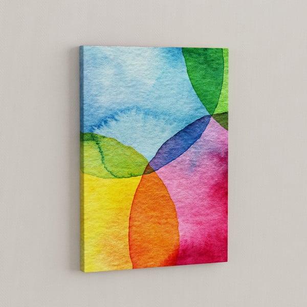 Obraz Gra kolorów, 50x70 cm