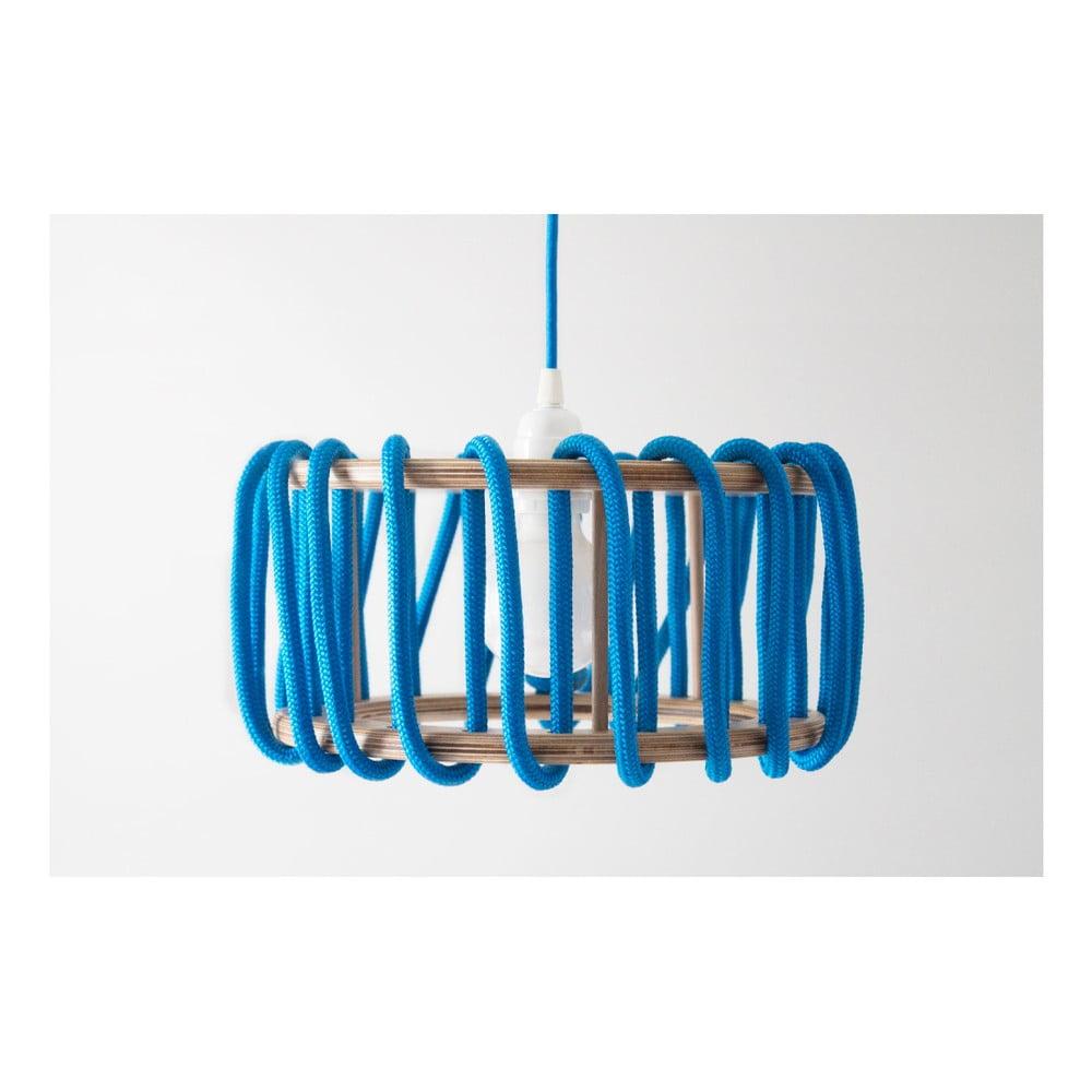 Niebieska lampa wisząca EMKO Macaron, ø 45 cm