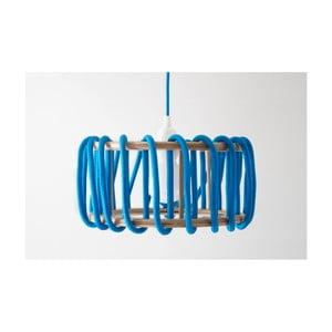 Niebieska lampa wisząca EMKO Macaron, 45 cm