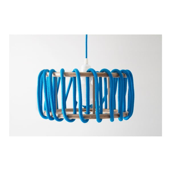 Niebieska lampa wisząca EMKO Macaron, 30 cm
