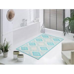 Niebieski wytrzymały dywan Azalea, 60x90 cm