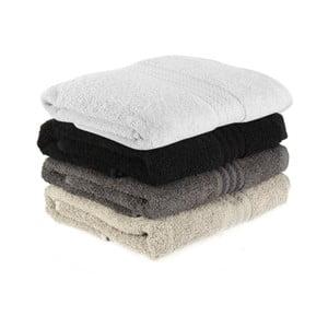 Zestaw 4 ręczników Rainbow Shadow, 50x90 cm