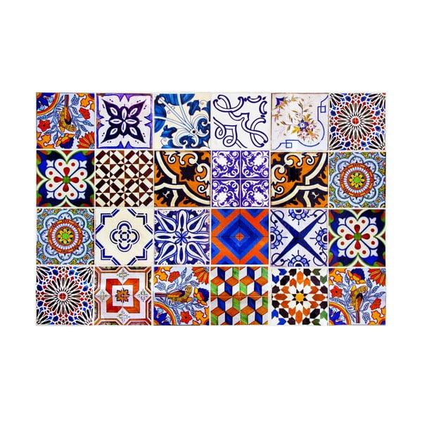 Winylowy dywan Mosaico, 133x200 cm