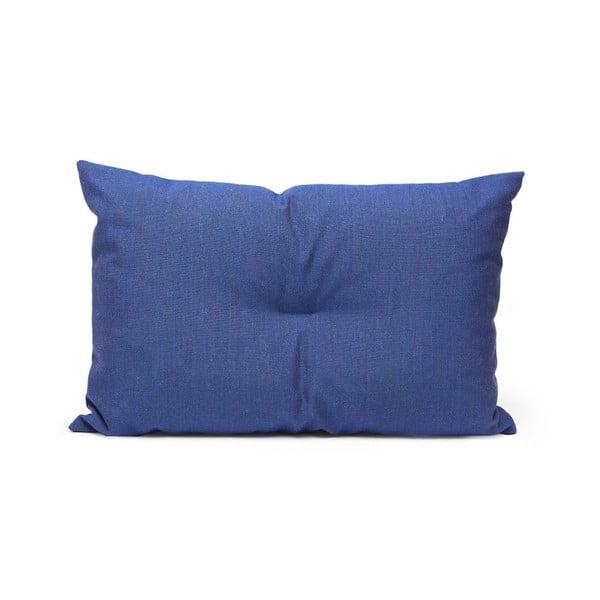 Wełniana poduszka Crips, niebieska