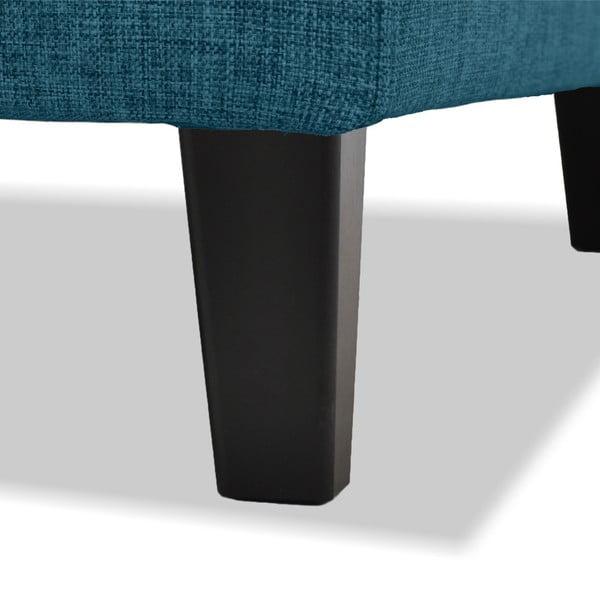 Turkusowa sofa 3-osobowa Vivonita Monroe