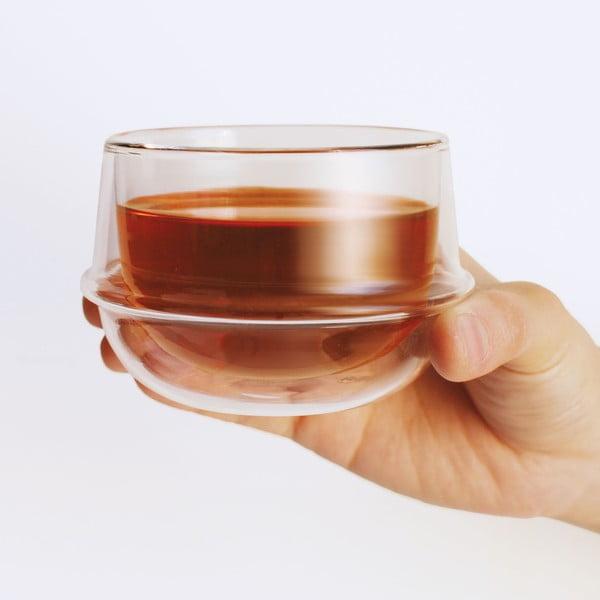 Kubek do herbaty Kronos z podwójnym szkłem