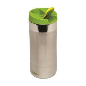 Kubek termiczny Flip Sea 350 ml, zielone wieczko