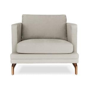 Beżowy fotel Windsor &Co. Sofas Jupiter