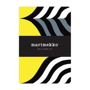 Zestaw małych notatników Chronicle Books Marimekko Mini Journal Set