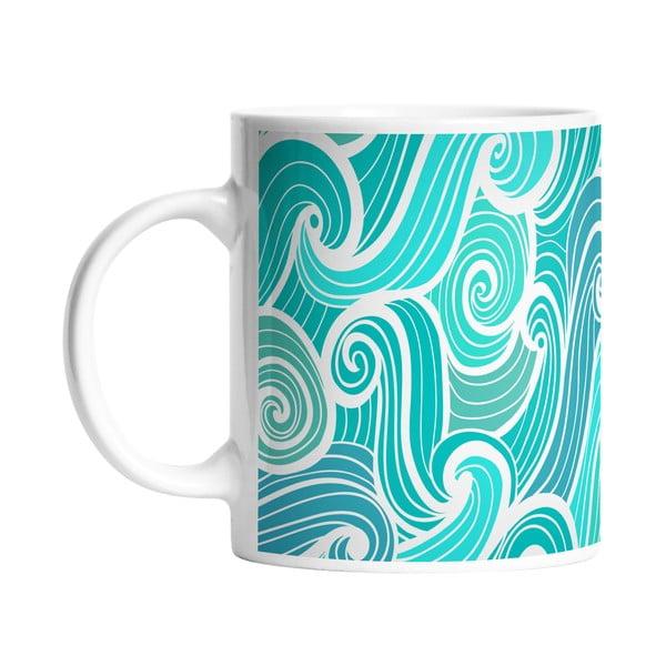 Kubek ceramiczny Beach Waves, 330 ml