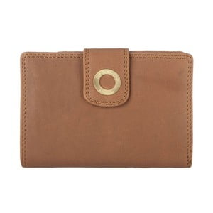 Skórzany portfel Clara Oak