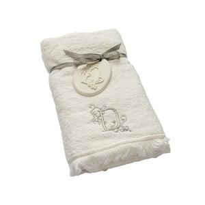 Ręcznik z inicjałem D, 50x90 cm