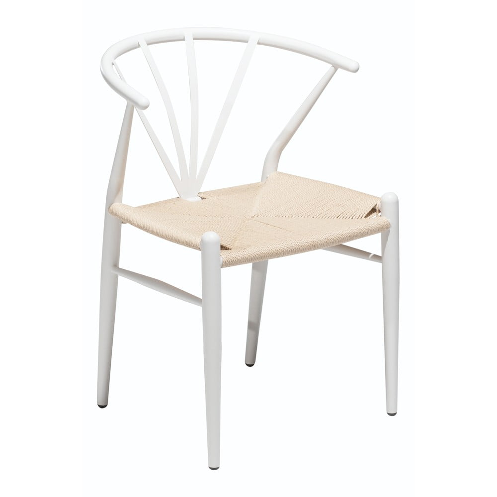 Białe krzesło DAN–FORM Denmark Delta