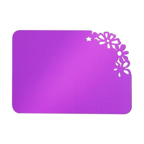 Fioletowa deska do krojenia Vialli Design Fiore