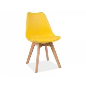 Żółte krzesło Signal Kris