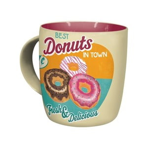 Kubek ceramiczny Donuts, 330 ml