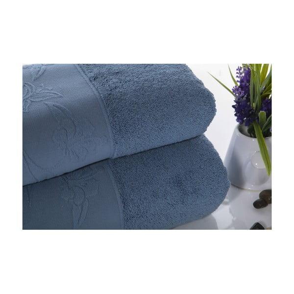 Zestaw 2 ręczników Pretty V2, 50x90 cm + 70x140 cm