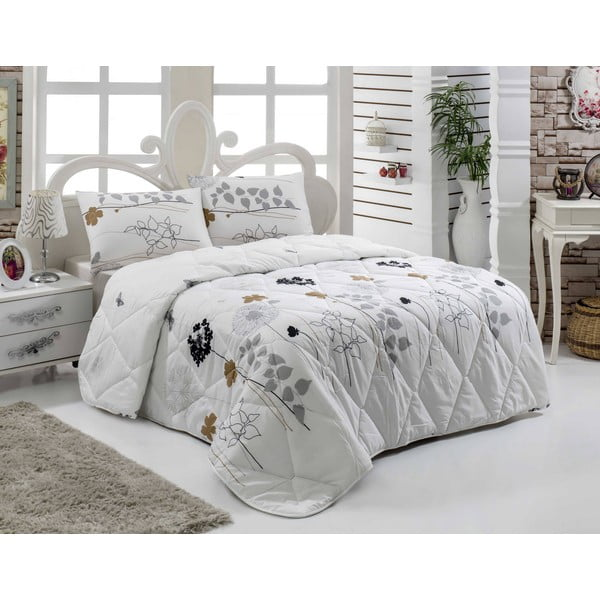 Narzuta pikowana na łóżko jednoosobowe Belinda, 155x215 cm