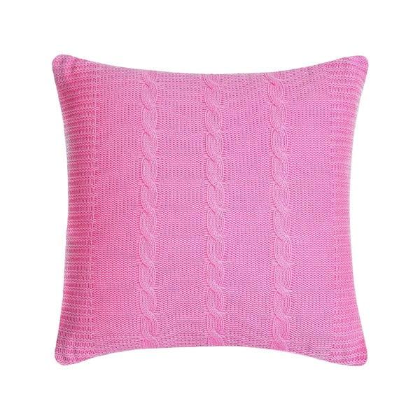 Poduszka Fancy Pink, 43x43 cm, wyrazisty róż