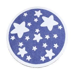 Dywan Deko - fioletowy w gwiazdy, 100 cm