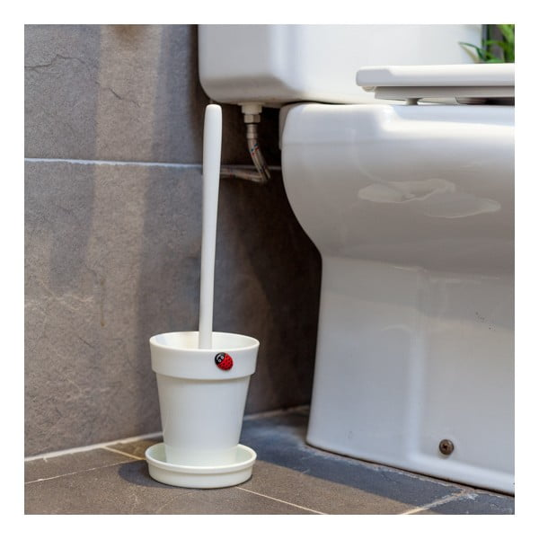 Szczotka toaletowa Yo White