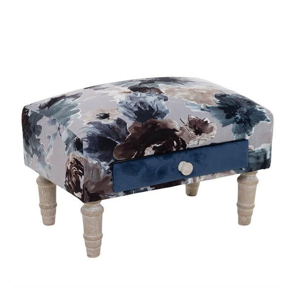 Taboret Happy Blue