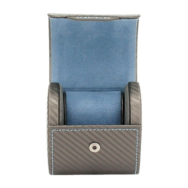 Kuferek na zegarki Carbon Rlegant Roll Grey