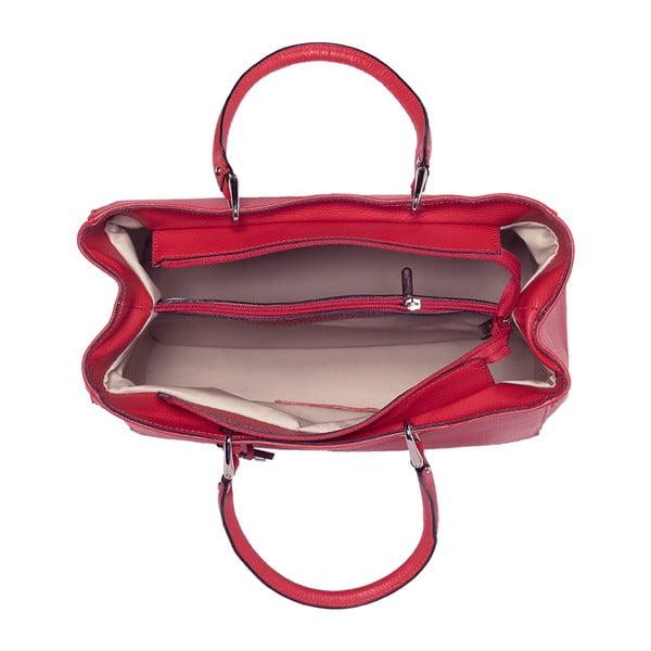 Skórzana torebka Andrea Cardone 939 Red