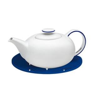 Biały dzbanek na herbatę z niebieskimi szczegółami Salt&Pepper Madison, 1,2 l