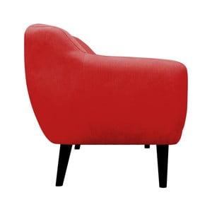 Czerwony fotel Mazzini Sofas Toscane