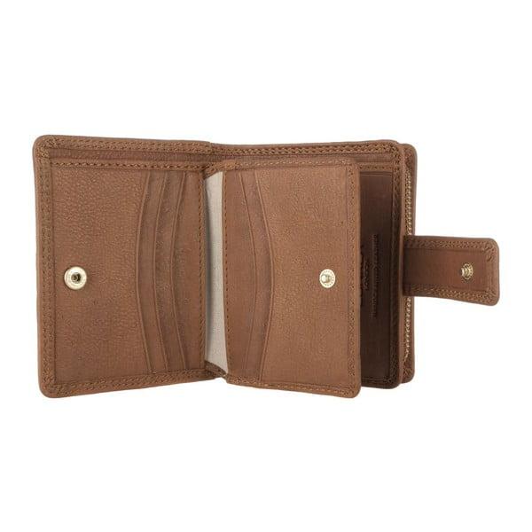 Skórzany portfel Caris Oak