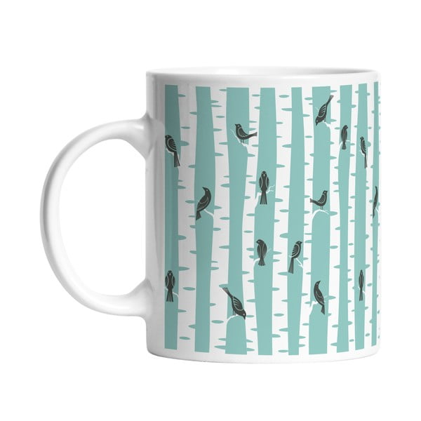 Ceramiczny kubek Birds on Tree, 330 ml