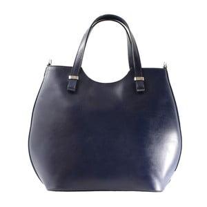 Niebieska   torebka skórzana Denisse