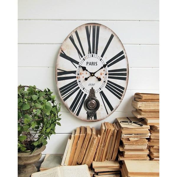 Zegar wahadłowy Pendulum, 43x58 cm