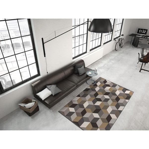 Brązowy dywan Kayoom Stella 600, 80x150 cm