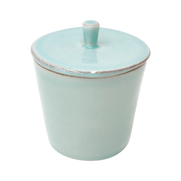 Cukierniczka ceramiczna Lisa 200 ml, turkusowa