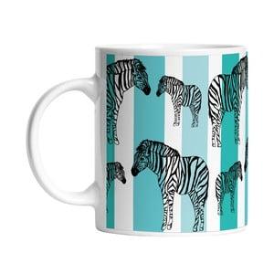 Ceramiczny kubek Striped Zebra, 330 ml