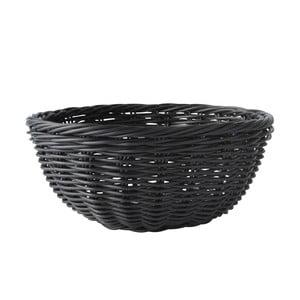 Koszyk na pieczywo, czarny