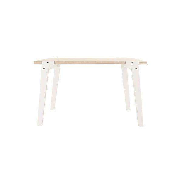 Biały stół/biurko rform Switch, blat 122x63 cm