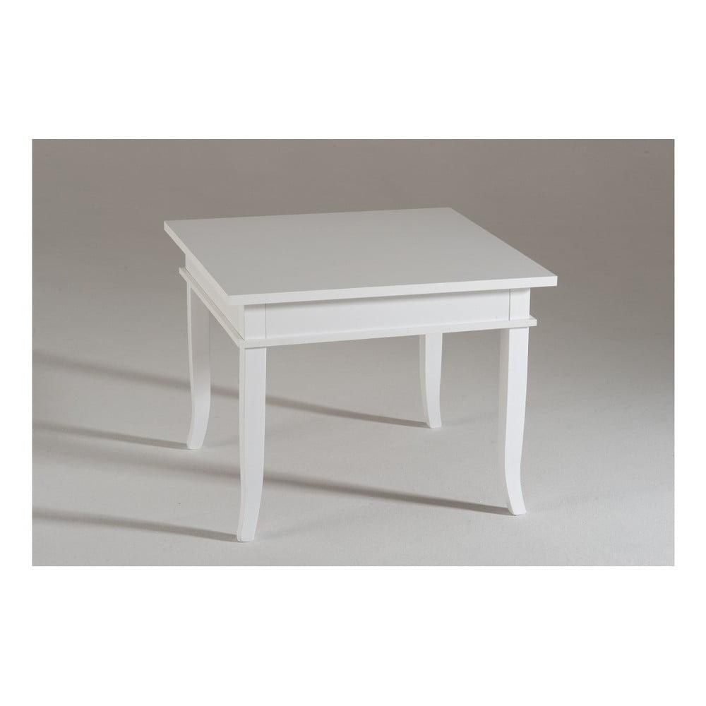 Biały Mały Stolik Drewniany Castagnetti Isabeau Bonami