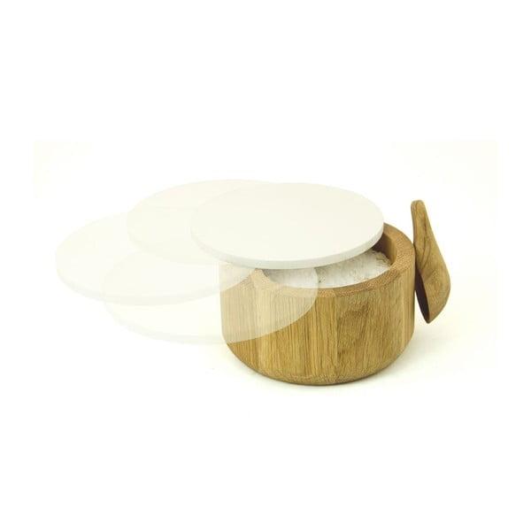 Pojemnik na sól z łyżeczką Wireworks Pot&Spoon