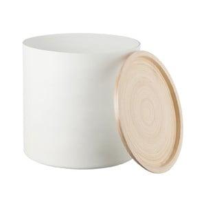 Bambusowy pojemnik Bamboo White