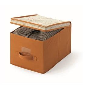 Pomarańczowe pudełko Cosatto Bloom, szer.30cm
