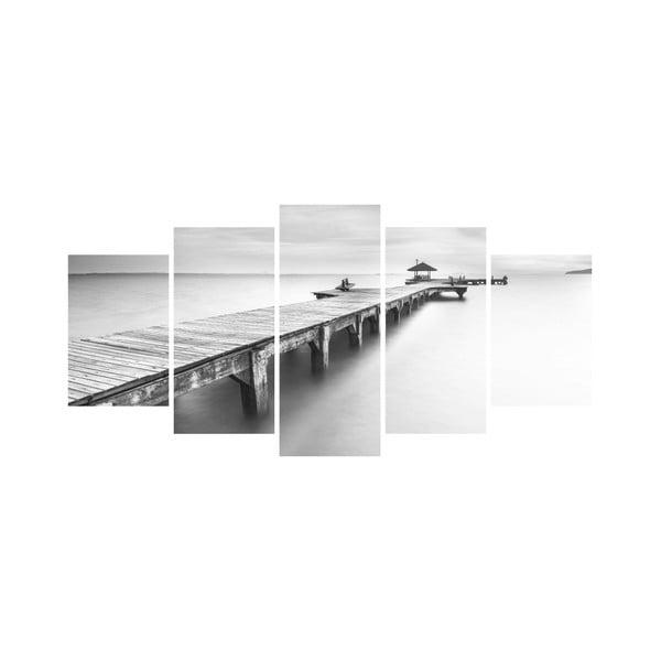 Wieloczęściowy obraz Black&White no. 65, 100x50 cm