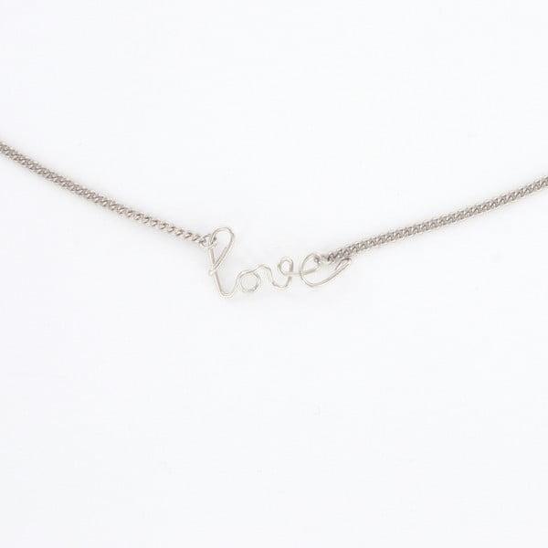 Naszyjnik Love Silver